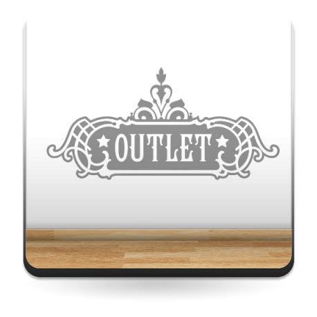 Outlet Belle Époque decoración con vinilo