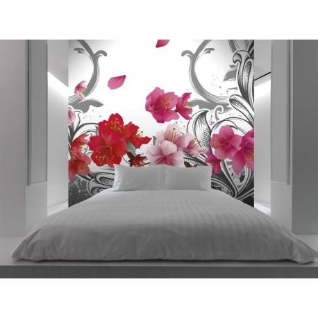 Floral Fantasía adhesivo decorativo ambiente