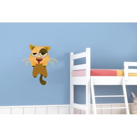 pegatina decorativa Gato