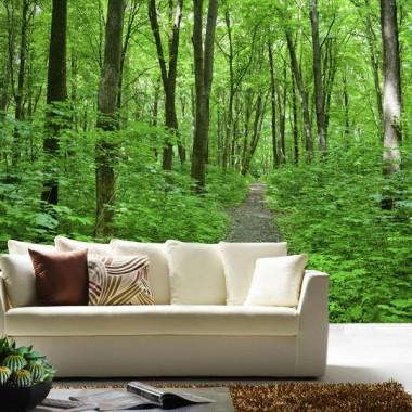vinilo decorativo Bosque Verde