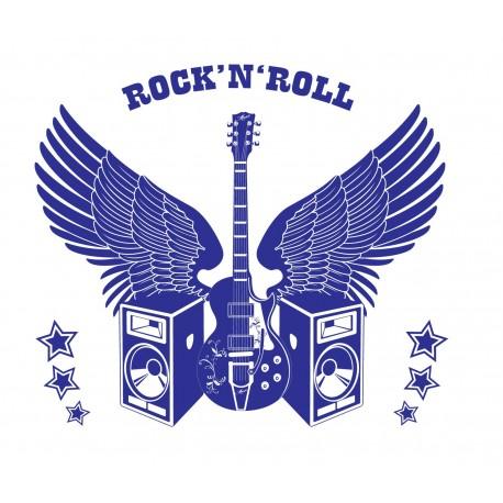 Rock & Roll para Cabecero adhesivo decorativo ambiente