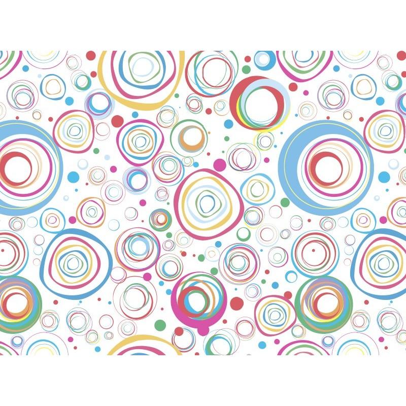 Vinilo transl cido impreso c rculos color - Vinilos de color ...