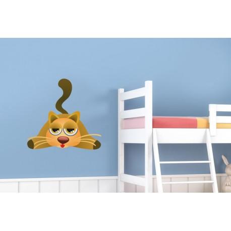 adhesivo decorativo Gato