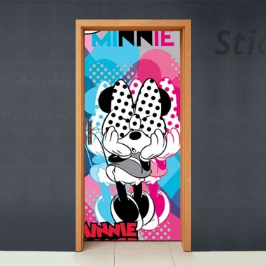 vinilos imagen producto Disney Cubrepuertas Adhesivo 63