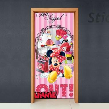 Disney Cubrepuertas Adhesivo 66 decoración con vinilo