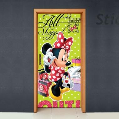 vinilo decorativo Disney Cubrepuertas Adhesivo 67