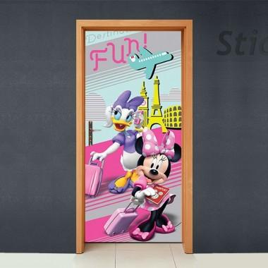 vinilos imagen producto Disney Cubrepuertas Adhesivo 68