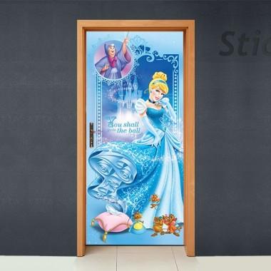 vinilos imagen producto Disney Cubrepuertas Adhesivo 73