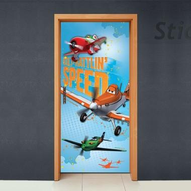 vinilo decorativo Disney Cubrepuertas Adhesivo 77