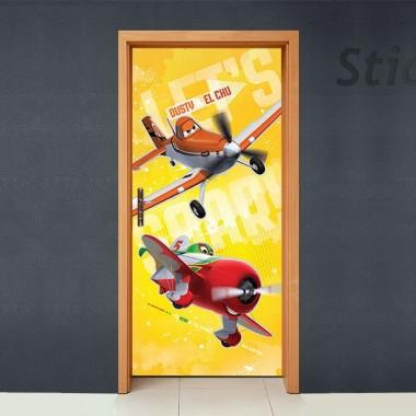 vinilos imagen producto Disney Cubrepuertas Adhesivo 78