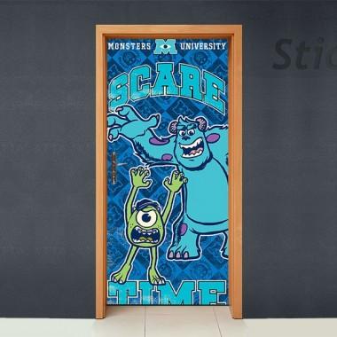 vinilos imagen producto Disney Cubrepuertas Adhesivo 88
