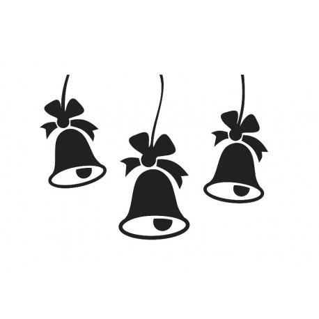 Campanas Navidad Composición imagen vinilo decorativo