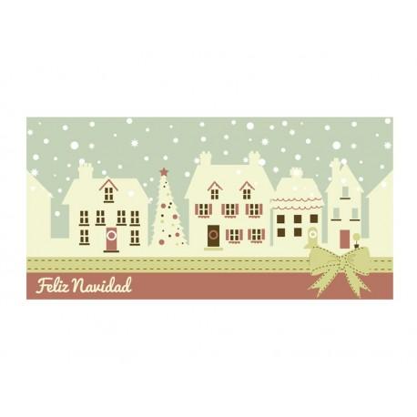 pegatina decorativa Vinilo Navidad Reposicionable Cenefa I