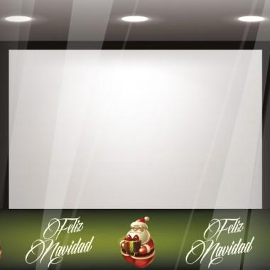 Vinilo Navidad Reposicionable Cenefa II imagen vista previa