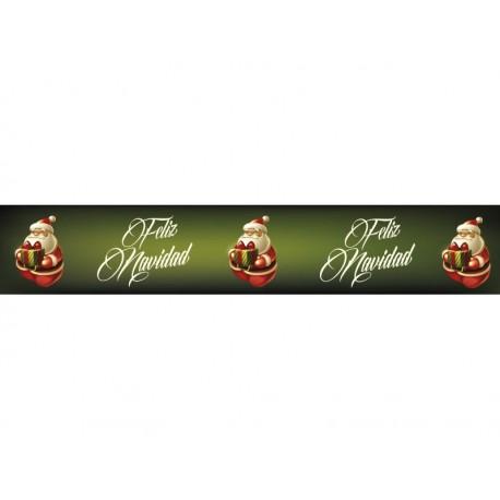 Vinilo Navidad Reposicionable Cenefa II adhesivo decorativo ambiente