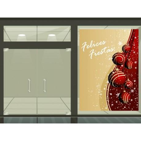Navidad Vinilo reposicionable Elegance decoración con vinilo
