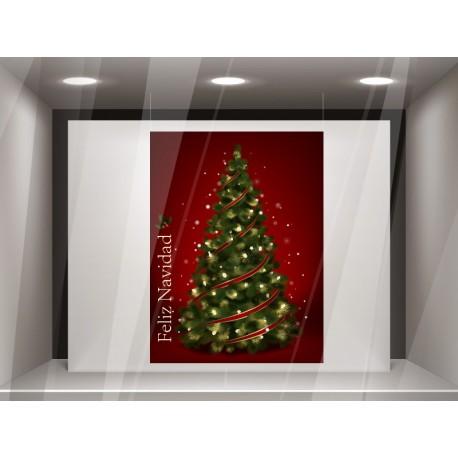 vinilos imagen producto Lona decorativa Navidad