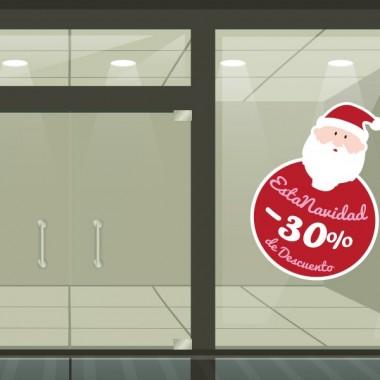Promoción Navidad vinilo- Reposicionable producto vinilos