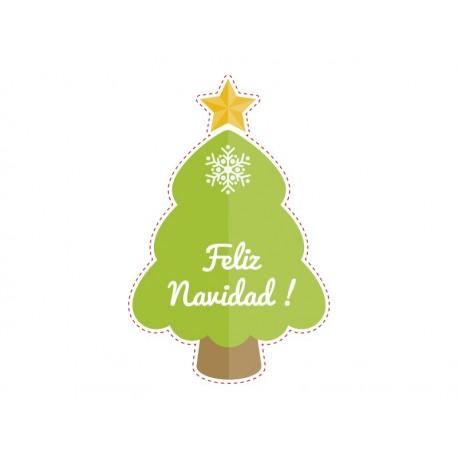 Navidad Árbol-Reposicionable imagen vinilo decorativo