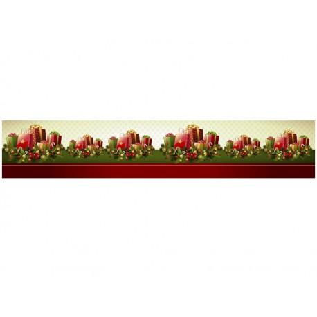 Navidad Reposicionable Cenefa adhesivo decorativo ambiente