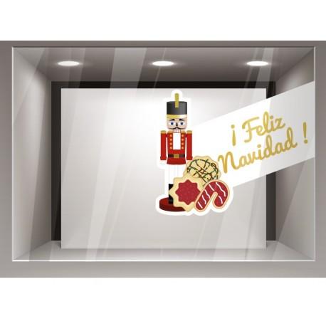 Decorativo navidad soldadito producto vinilos
