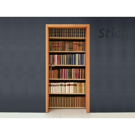 Vinilo biblioteca antigua