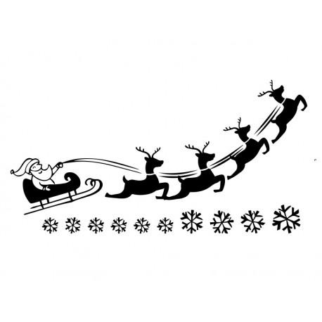 59daec1732c6f vinilos decorativos navidades-papa noel en trineo