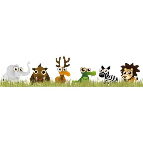 adhesivo decorativo Animales Selva Familia II en Pegatina