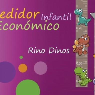 pegatina pared Medidor Rino Dinos