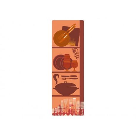 adhesivo decorativo Menaje Composición