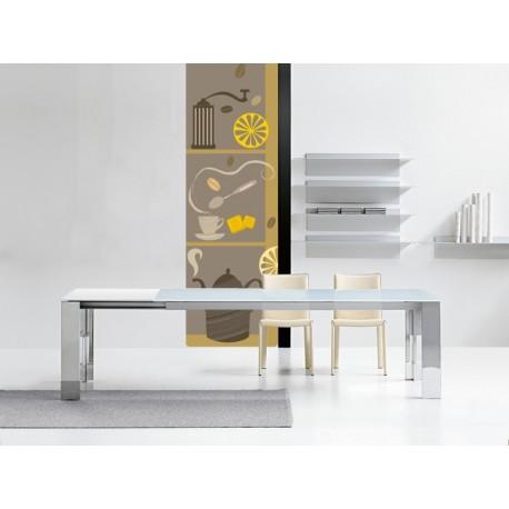 Café Composición decoración con vinilo