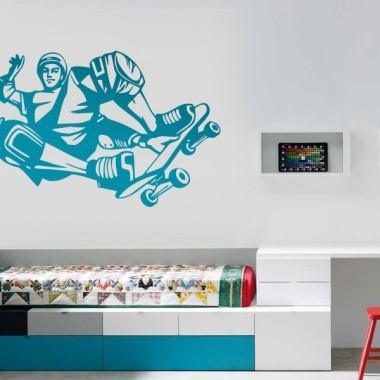 vinilo decorativo Skater