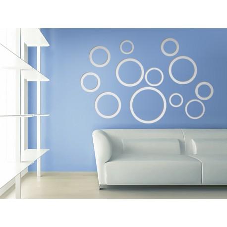 vinilos imagen producto Circulos 3D composición