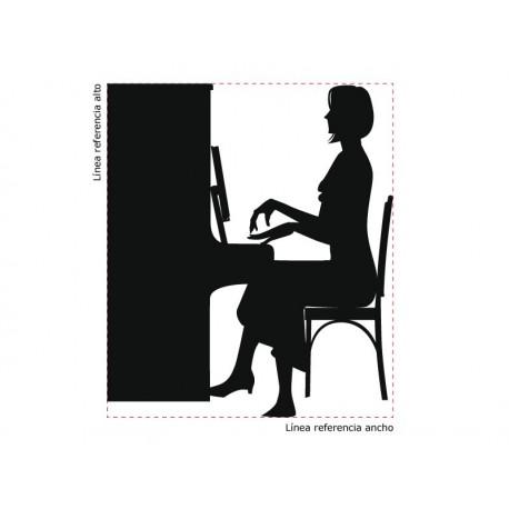 vinilos imagen producto Clase de Piano