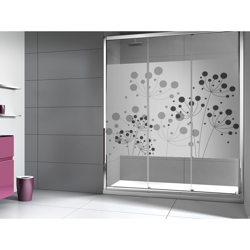 Submarinista para la ducha efecto cristal arenado vinilo - Vinilos puertas cristal ...
