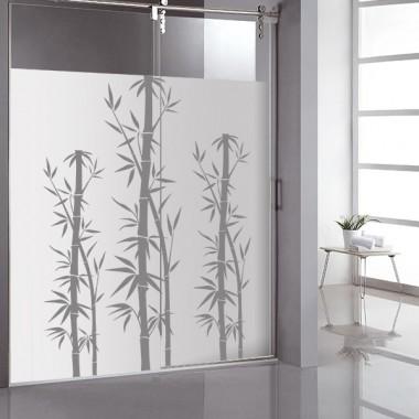 pegatina decorativa Vinilo Translúcido Bambú II