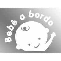 Pegatina Bebé a Bordo VI