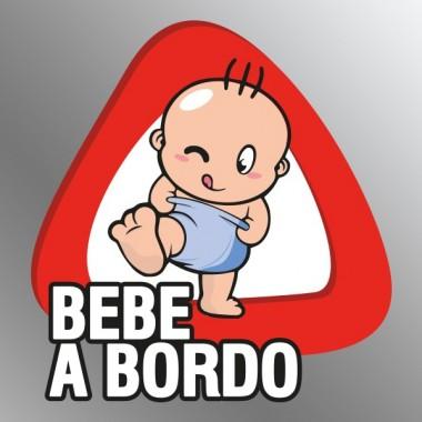 adhesivo decorativo Pegatina Bebé a Bordo VIII