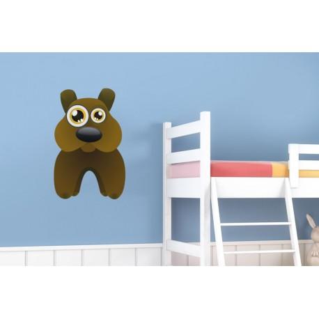 adhesivo decorativo Perro