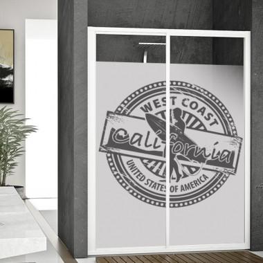 vinilo para ventanas Vinilo translúcido impreso Surf