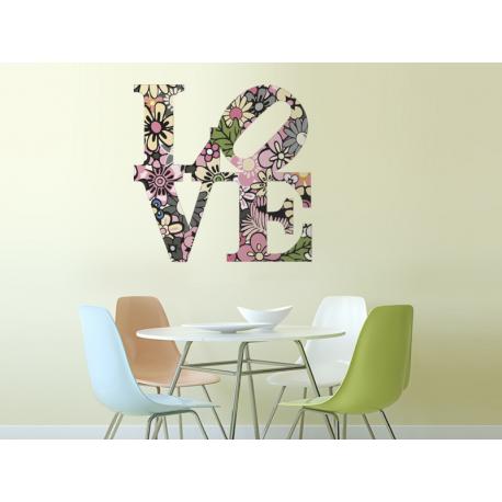 Floral Love II producto vinilos