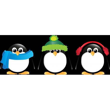 adhesivo decorativo Pingüinos