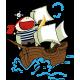 Piratas al Abordaje imagen vinilo decorativo