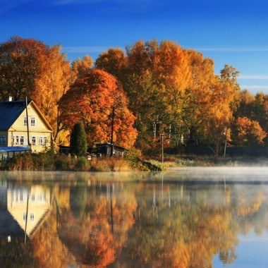 vista fotomural Fotomural Lago