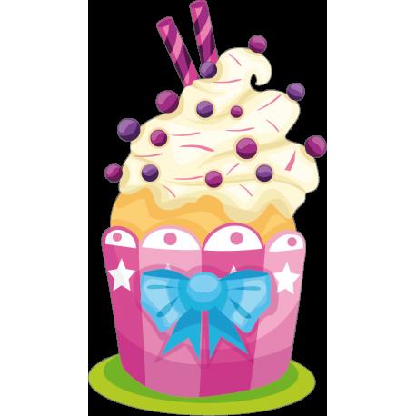 Muffin Pegatina III imagen vinilo decorativo