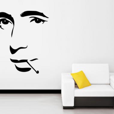 Humphrey Bogart imagen vinilo decorativo
