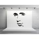 Humphrey Bogart decoración con vinilo