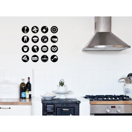 Marcadores cocina producto vinilos