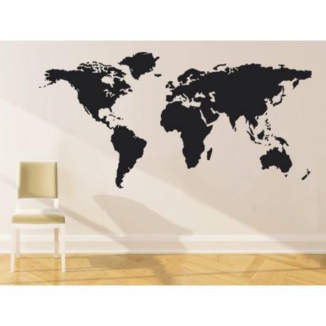 mapa del mundo vinilos baratos