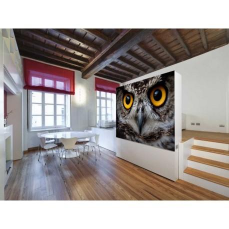 Fotomural Ojos de Buho decoración con vinilo